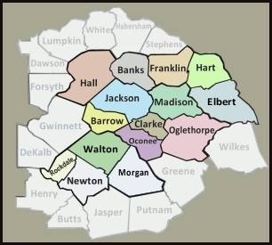 Image result for gwinnett walton map